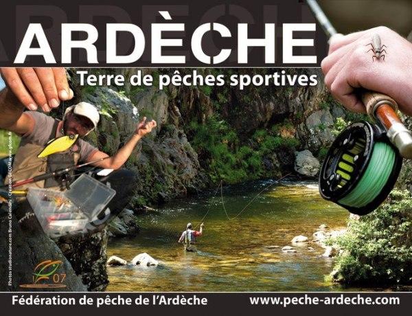 #Ardèche : terre de #pêches sportives